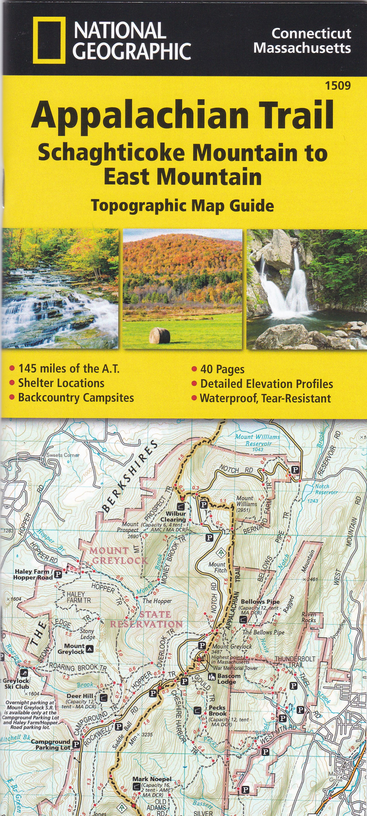 National Geographic Appalachian Trail Map | Highpoint
